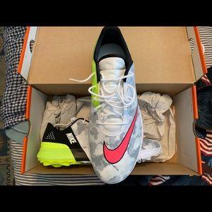 Nike Jackets & Coats | Aerolayer Hooded Running Jacket | Poshmark